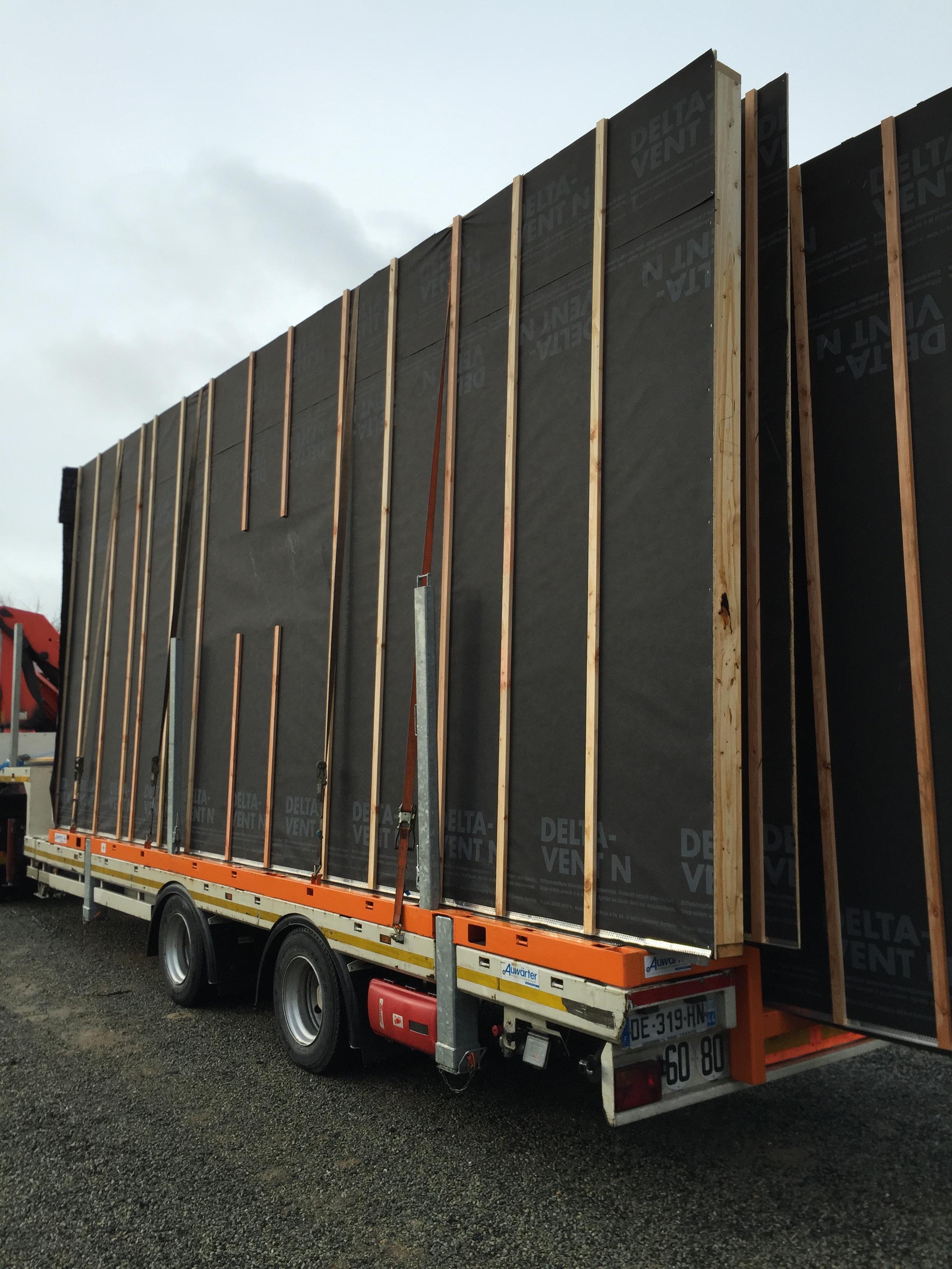 Construction d une maison ossature bois de 180 m for L ossature bois