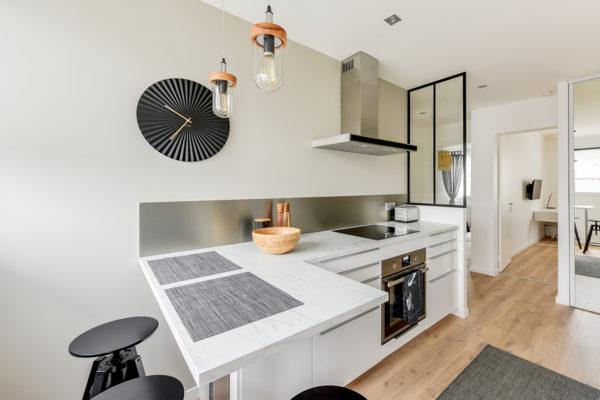 Rénovation intégrale d'un appartement de 65m² : de beaux espaces réagencés
