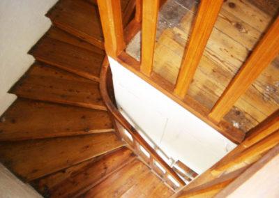 Renovation escalier