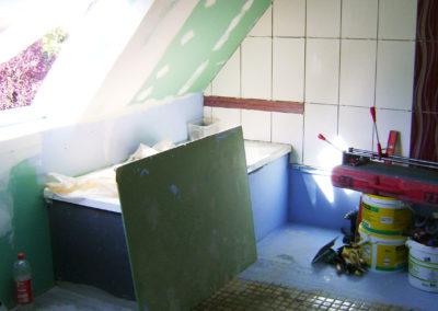Chantier salle de bain