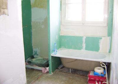 Chantier Salle de bains