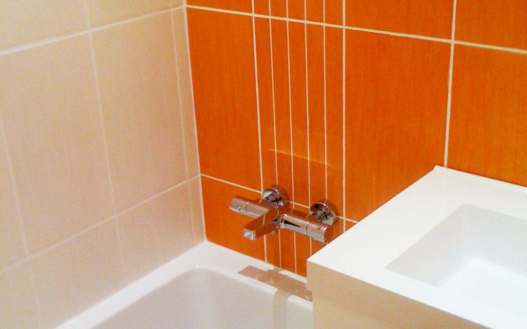 Restauration salle de bains quartier Beauséjour