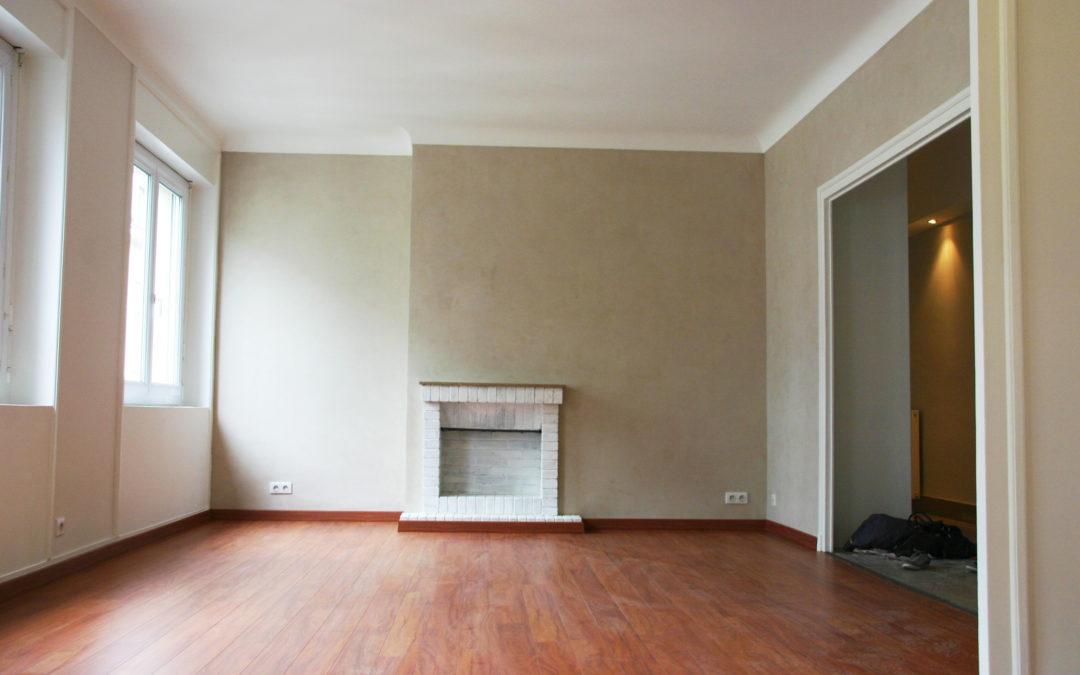 Réhabilitation intégrale d'un appartement type 4