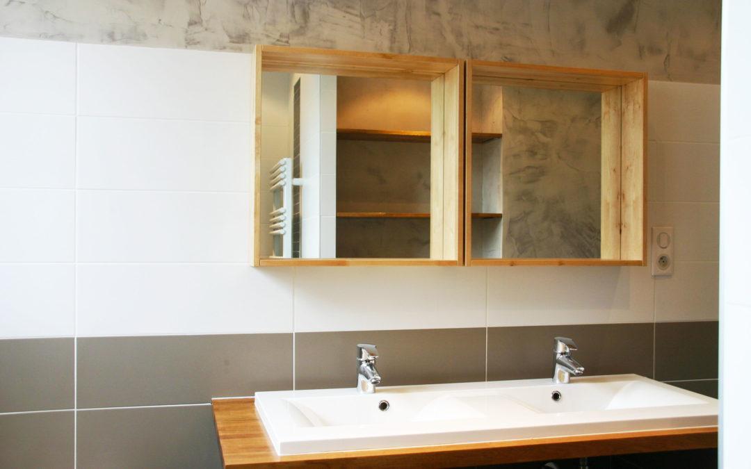 Création Salle de bains dans un appartement T4