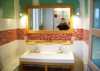 Réalisation espace salle de bains