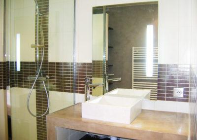 Aménagement salle de bains à Nantes