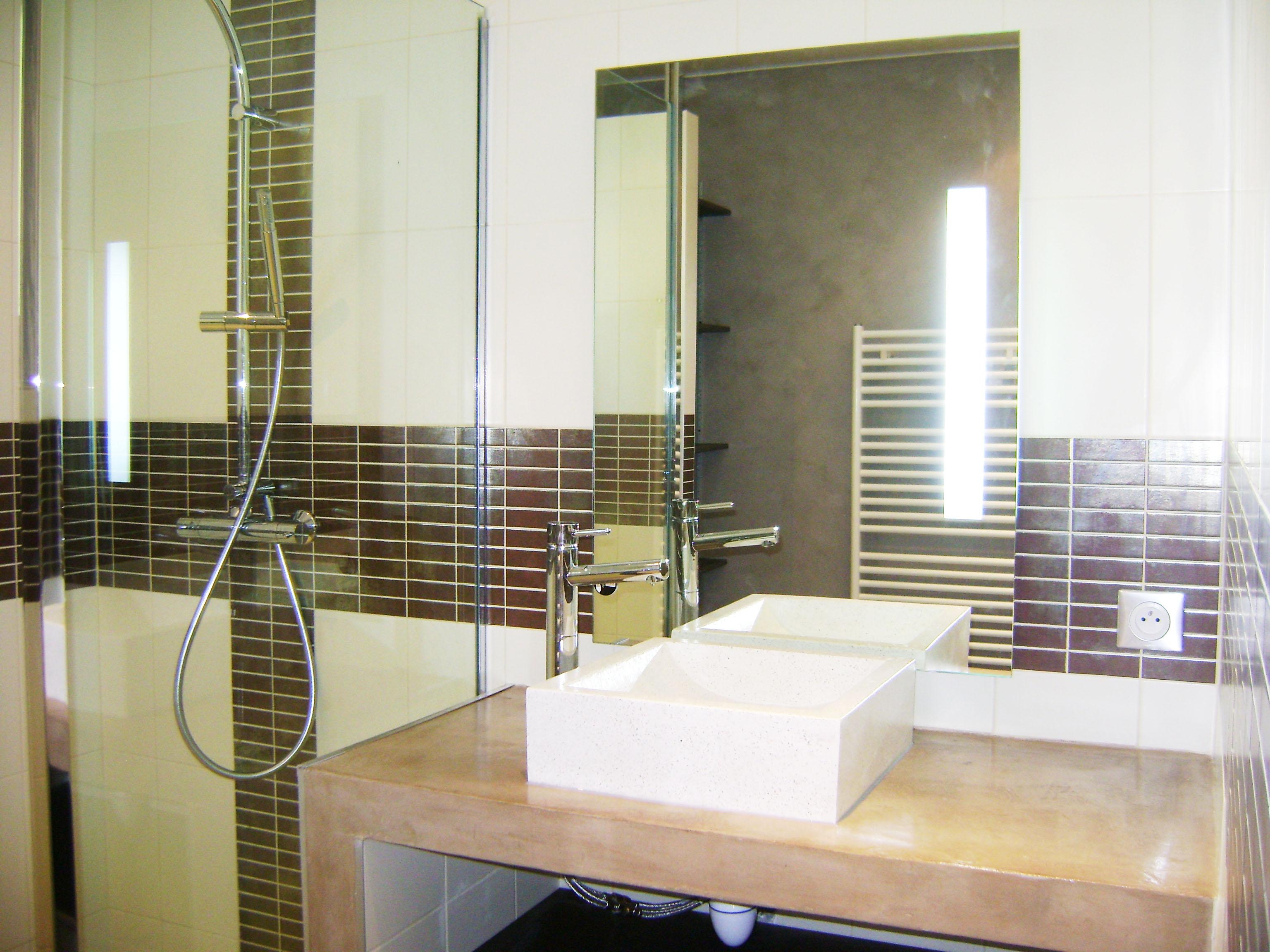 Aménagement salle de bains à Nantes - Renoveo