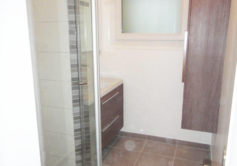 Réhabilitation de Salle de bains à Nantes