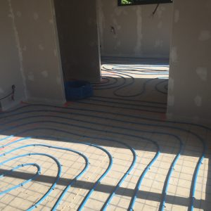 rénovation chauffage au sol