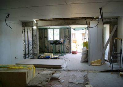 Rénovation isolation