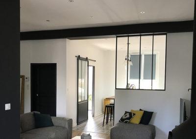 Rénovation intégrale d'une maison de 150m²