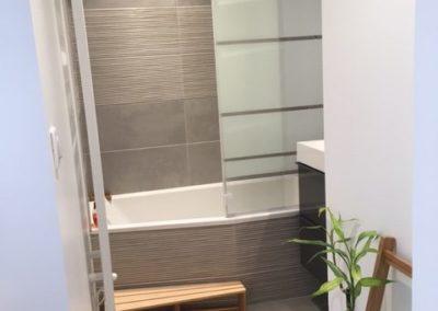 Salle de bains après rénovation