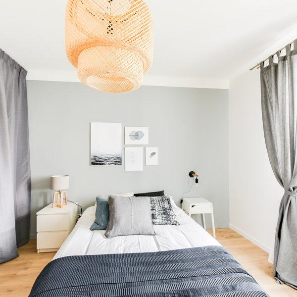 Rénovation et agencement d'un appartement destiné à la location - chambre 3
