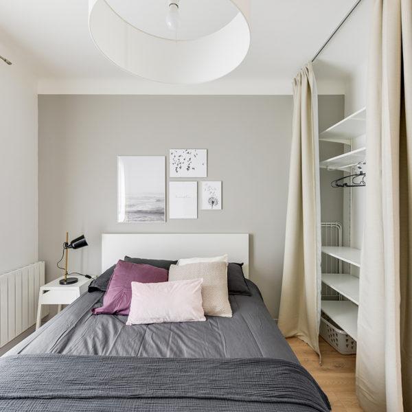 Rénovation et agencement d'un appartement destiné à la location - chambre 2