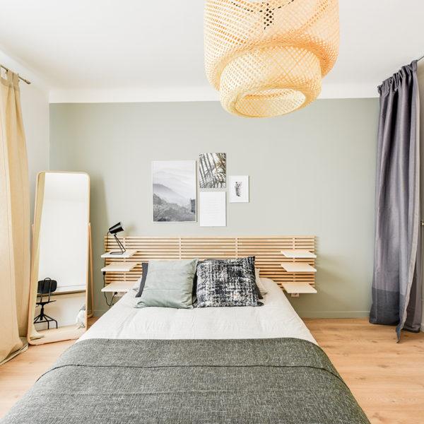 Rénovation et agencement d'un appartement destiné à la location - chambre 1