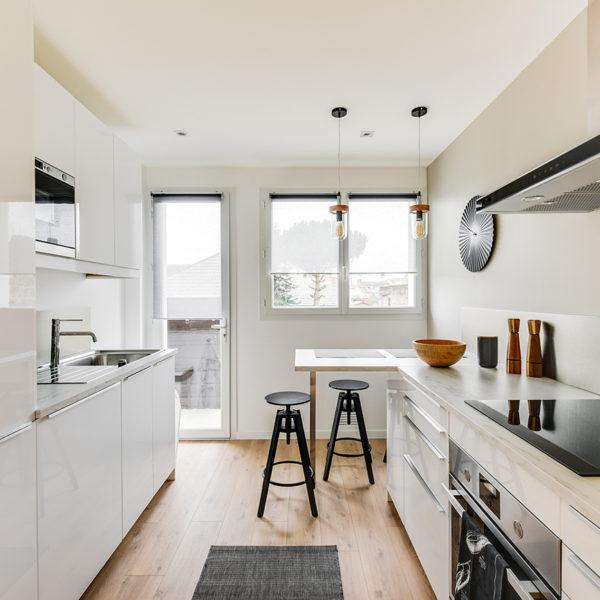 Rénovation et agencement d'un appartement destiné à la location - focus sur la cuisine