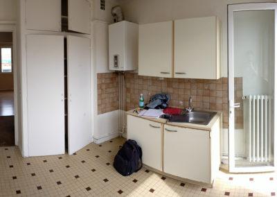 Rénovation et agencement d'un appartement -Avant / Cuisine