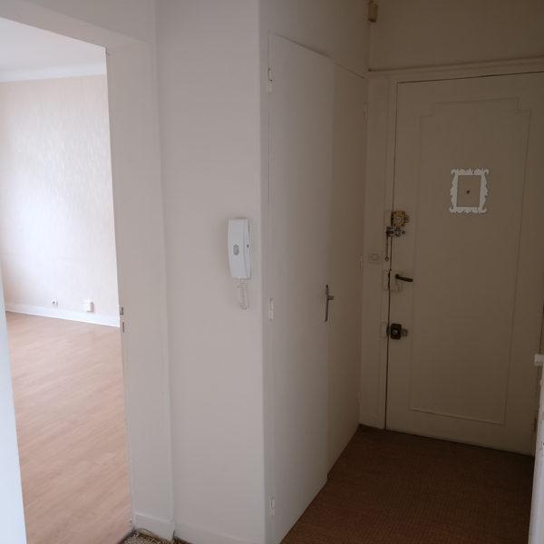 Rénovation et agencement d'un appartement -Avant / hall d'entrée