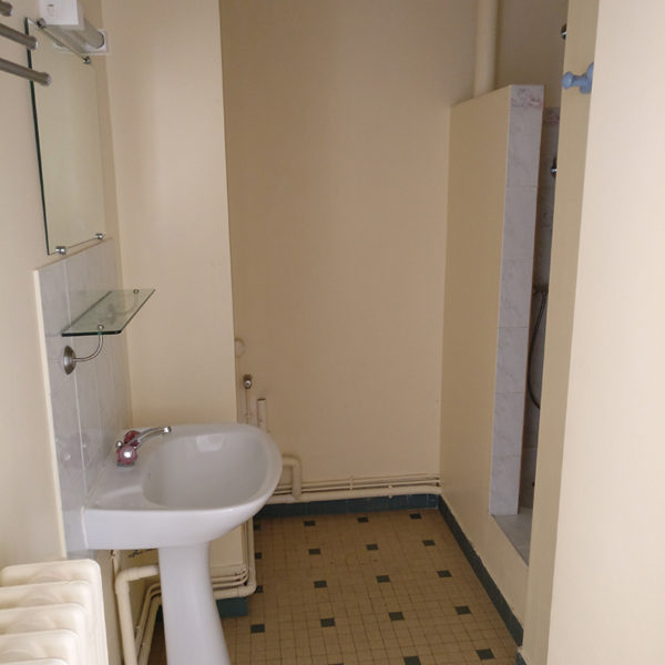 Rénovation et agencement d'un appartement -Avant / Salle de bains.