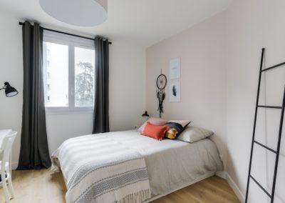 Rénovation et agencement d'un appartement - Chambre 2