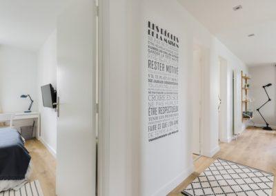 Rénovation et agencement d'un appartement - Hall d'entrée
