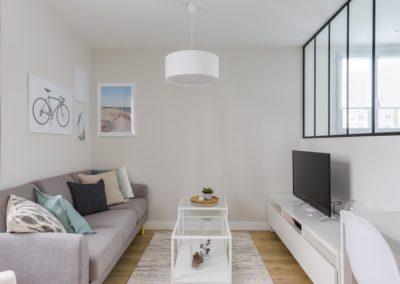 Rénovation et agencement d'un appartement - Salon