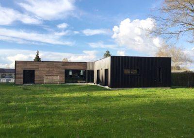 Construction d'une maison à ossature bois de 180 m² à Grandchamp-des-Fontaines